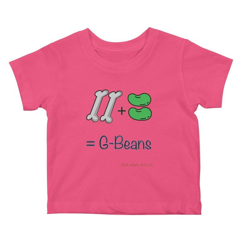 Two Bones Two Beans for Kayla Kids Baby T-Shirt by thebombdotcomdotcom.com