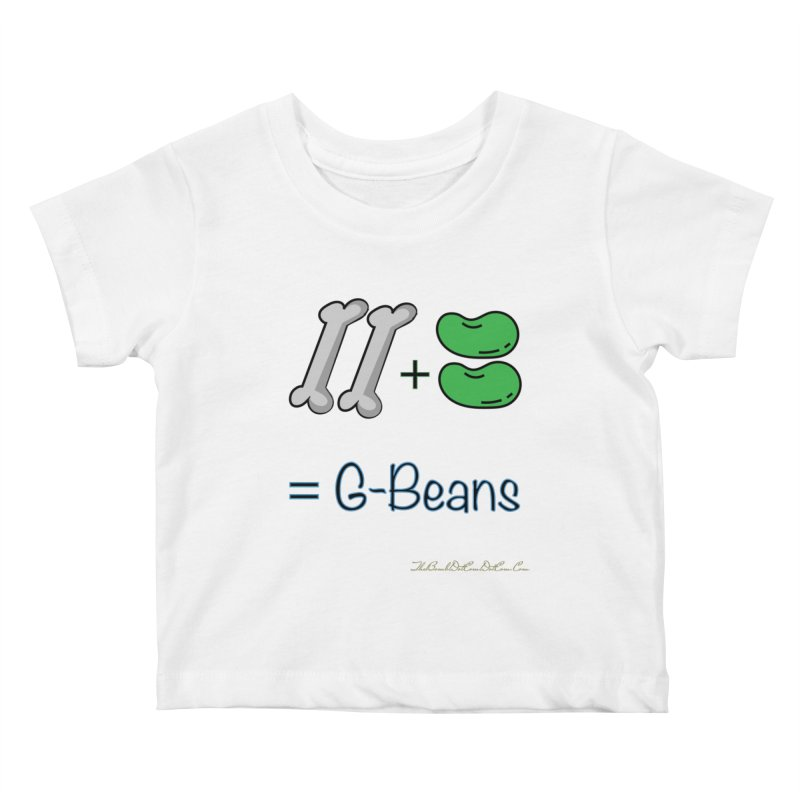 Two Bones Two Beans for Kayla Kids Baby T-Shirt by thebombdotcomdotcom.com