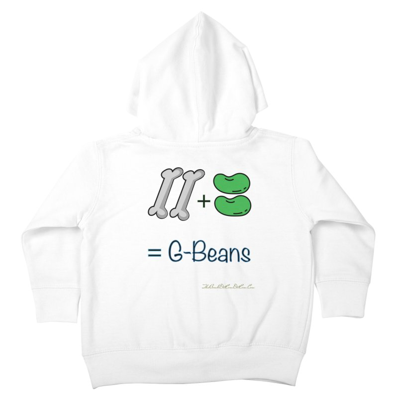 Two Bones Two Beans for Kayla Kids Toddler Zip-Up Hoody by thebombdotcomdotcom.com