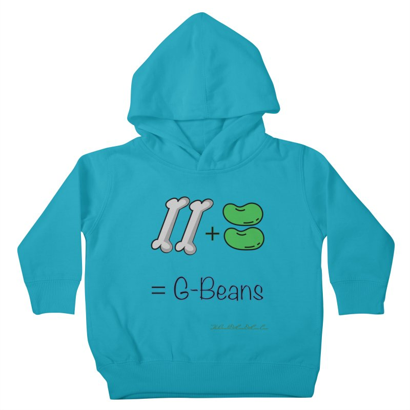 Two Bones Two Beans for Kayla Kids Toddler Pullover Hoody by thebombdotcomdotcom.com