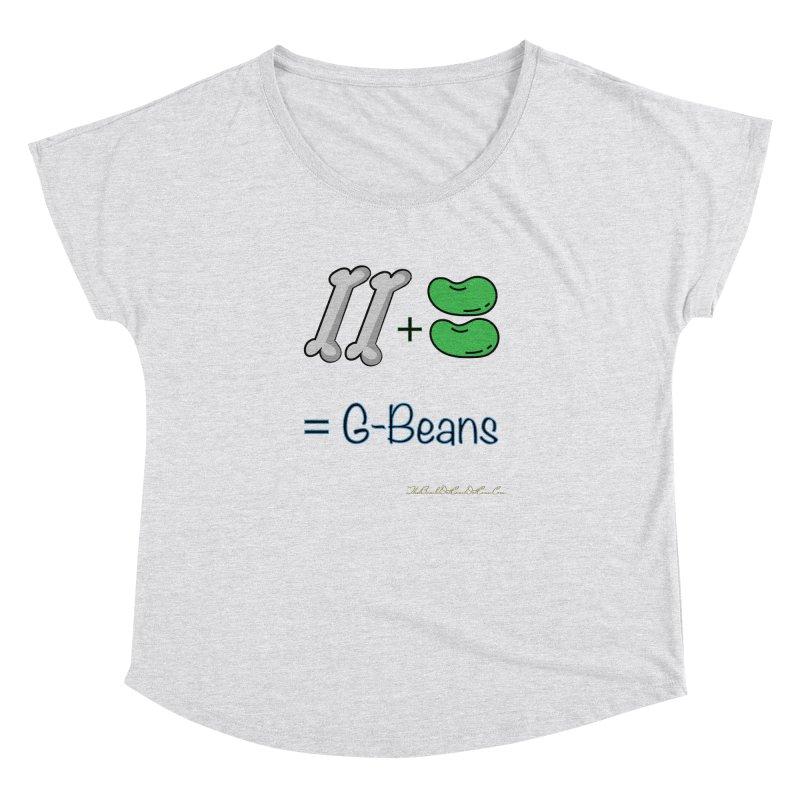 Two Bones Two Beans for Kayla Women's Dolman Scoop Neck by thebombdotcomdotcom.com