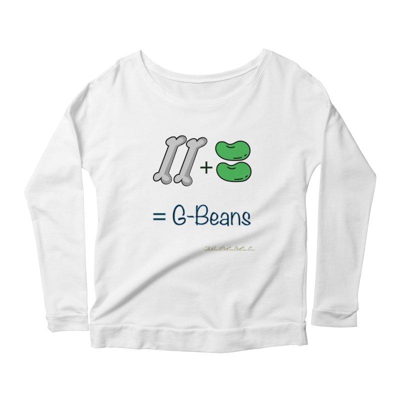 Two Bones Two Beans for Kayla Women's Scoop Neck Longsleeve T-Shirt by thebombdotcomdotcom.com