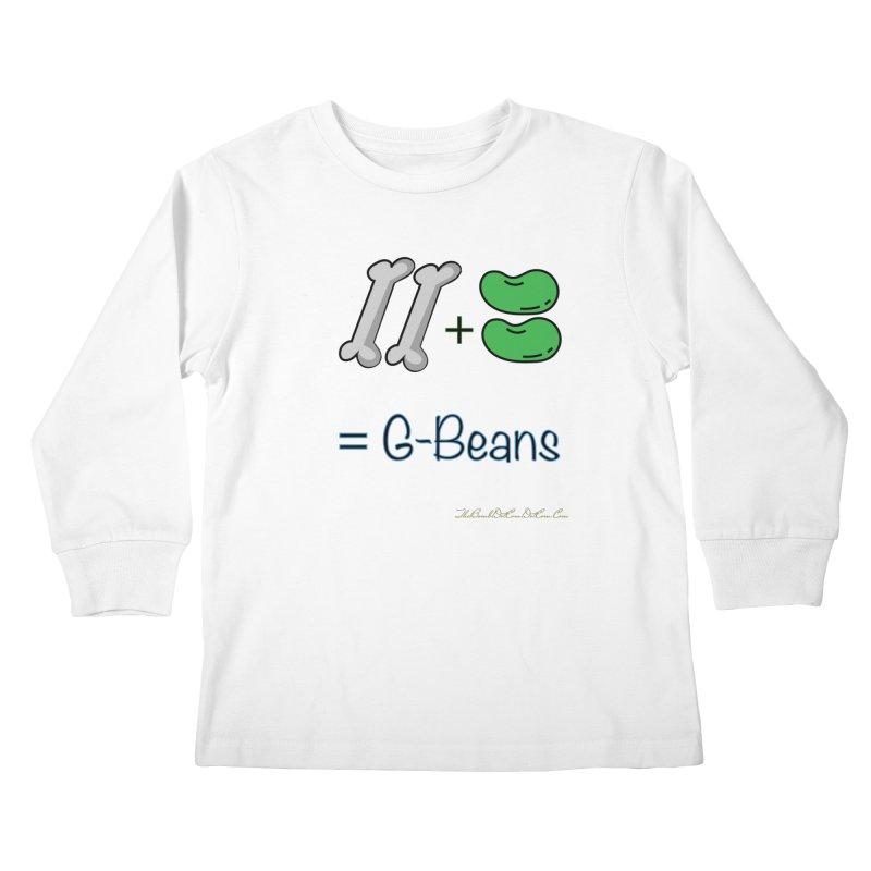 Two Bones Two Beans for Kayla Kids Longsleeve T-Shirt by thebombdotcomdotcom.com