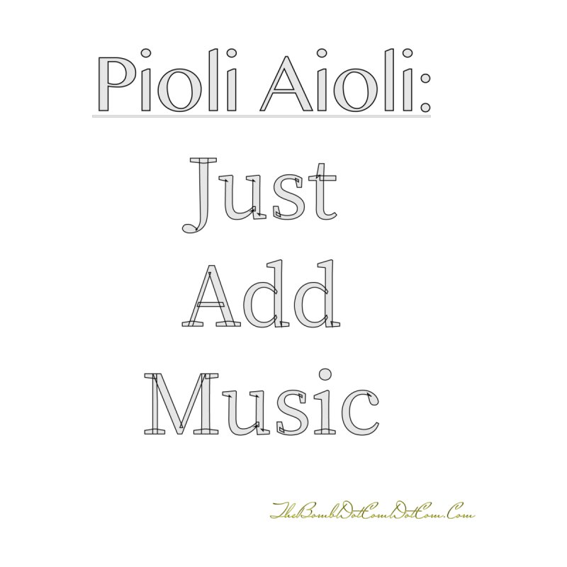Pioli Aioli for John Pioli Women's Sweatshirt by thebombdotcomdotcom.com