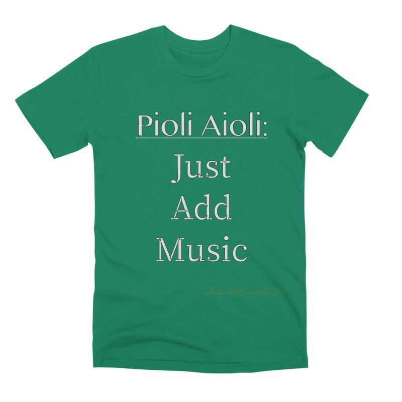 Pioli Aioli for John Pioli Men's Premium T-Shirt by thebombdotcomdotcom.com