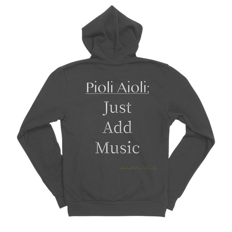 Pioli Aioli for John Pioli Women's Sponge Fleece Zip-Up Hoody by thebombdotcomdotcom.com
