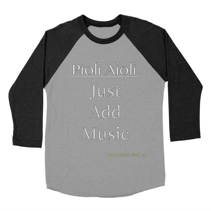 Pioli Aioli for John Pioli Men's Baseball Triblend Longsleeve T-Shirt by thebombdotcomdotcom.com