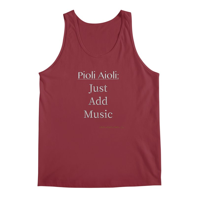 Pioli Aioli for John Pioli Men's Regular Tank by thebombdotcomdotcom.com