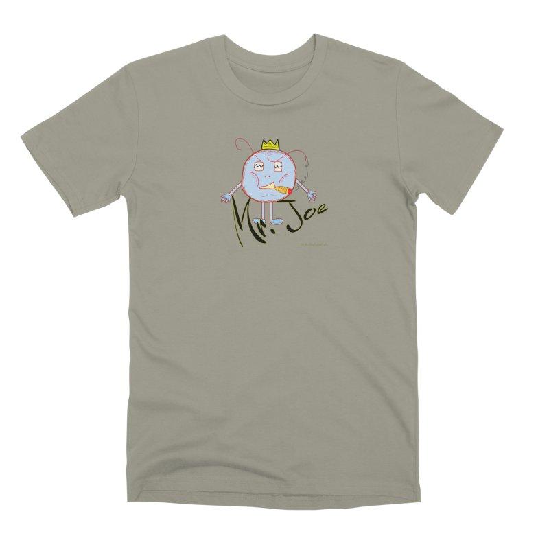 Mr. Joe sans Cherry Twins Men's Premium T-Shirt by thebombdotcomdotcom.com