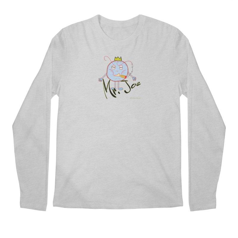 Mr. Joe sans Cherry Twins Men's Regular Longsleeve T-Shirt by thebombdotcomdotcom.com
