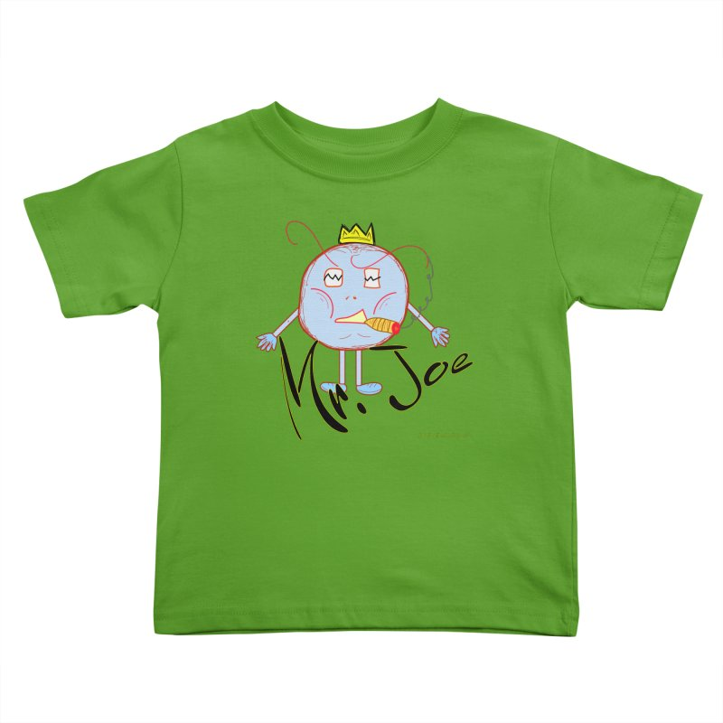 Mr. Joe sans Cherry Twins Kids Toddler T-Shirt by thebombdotcomdotcom.com