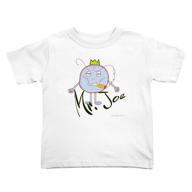 Mr. Joe sans Cherry Twins Kids Toddler T-Shirt by thebombdotcomdotcom.com