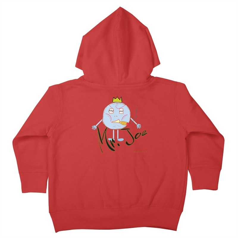 Mr. Joe sans Cherry Twins Kids Toddler Zip-Up Hoody by thebombdotcomdotcom.com