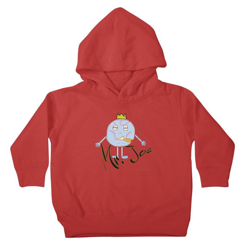 Mr. Joe sans Cherry Twins Kids Toddler Pullover Hoody by thebombdotcomdotcom.com