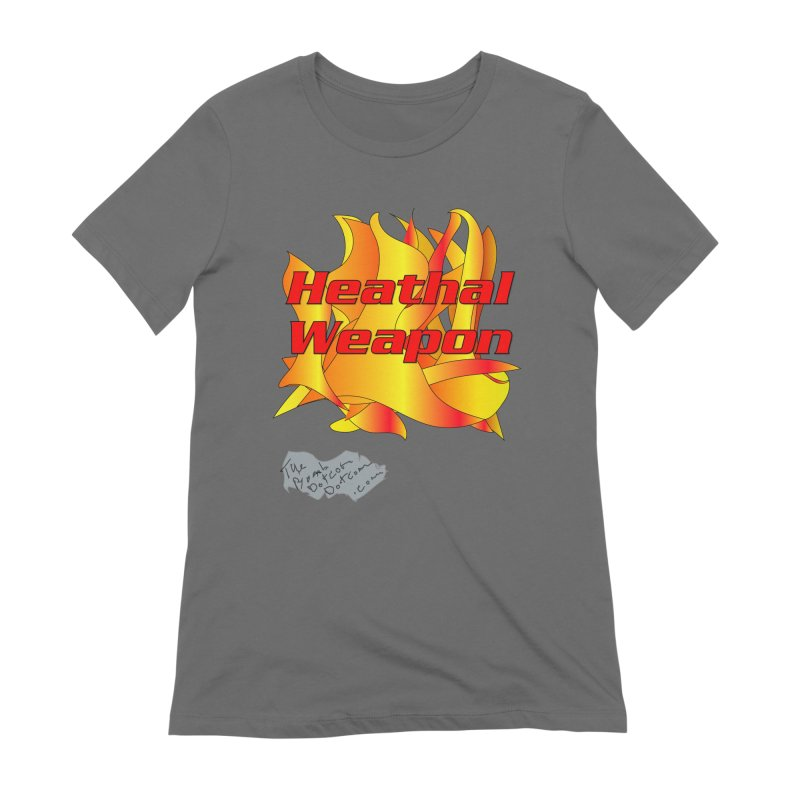Heathal Weapon- A shirt for Heath Women's Extra Soft T-Shirt by thebombdotcomdotcom.com