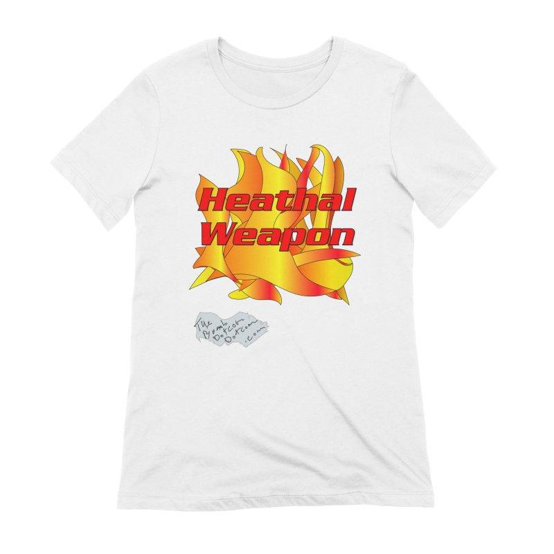 Heathal Weapon- A shirt for Heath Women's Extra Soft T-Shirt by thebombdotcomdotcom.com