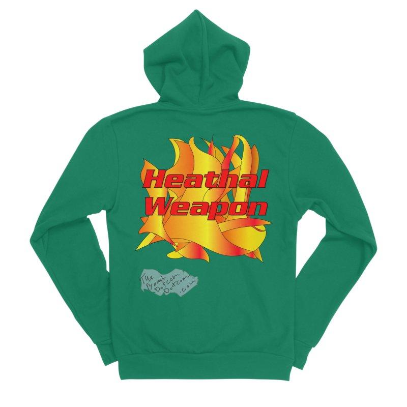 Heathal Weapon- A shirt for Heath Men's Sponge Fleece Zip-Up Hoody by thebombdotcomdotcom.com