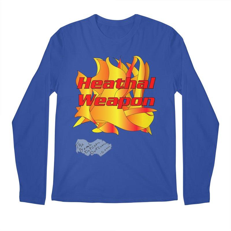 Heathal Weapon- A shirt for Heath Men's Regular Longsleeve T-Shirt by thebombdotcomdotcom.com