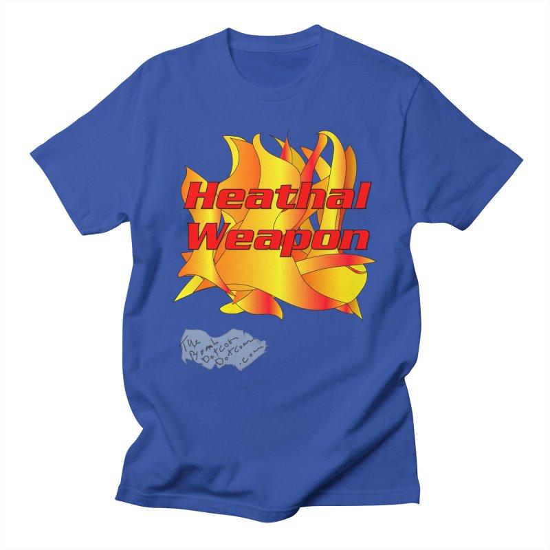 Heathal Weapon- A shirt for Heath Men's Regular T-Shirt by thebombdotcomdotcom.com