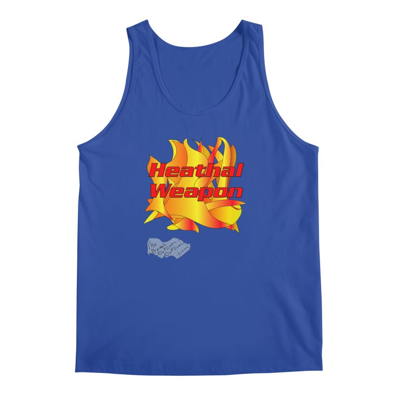 Heathal Weapon- A shirt for Heath Men's Regular Tank by thebombdotcomdotcom.com