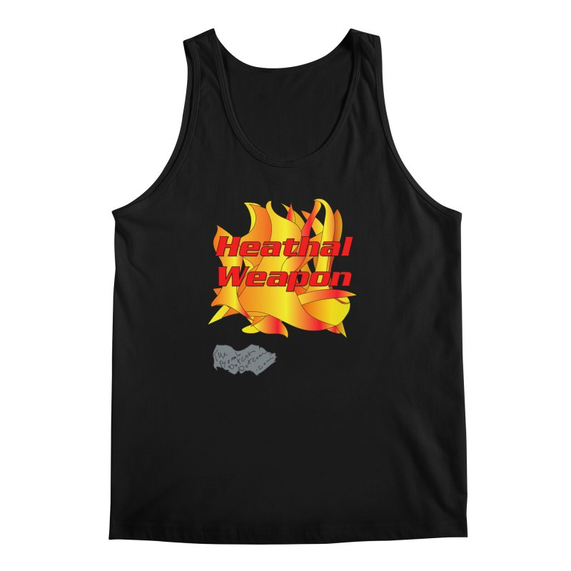 Heathal Weapon- A shirt for Heath Men's Regular Tank by thebombdotcomdotcom.com