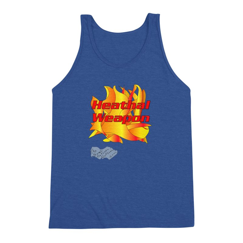 Heathal Weapon- A shirt for Heath Men's Triblend Tank by thebombdotcomdotcom.com