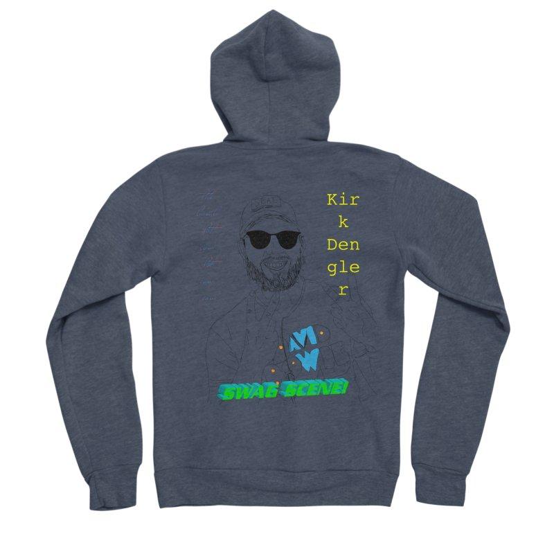 """SWAG SCENE!"" Kirk Dengler: The Shirt Men's Sponge Fleece Zip-Up Hoody by thebombdotcomdotcom.com"