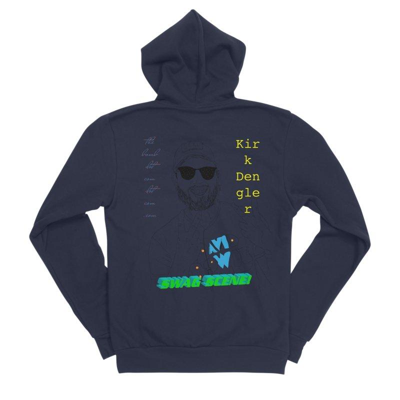 """SWAG SCENE!"" Kirk Dengler: The Shirt Women's Sponge Fleece Zip-Up Hoody by thebombdotcomdotcom.com"