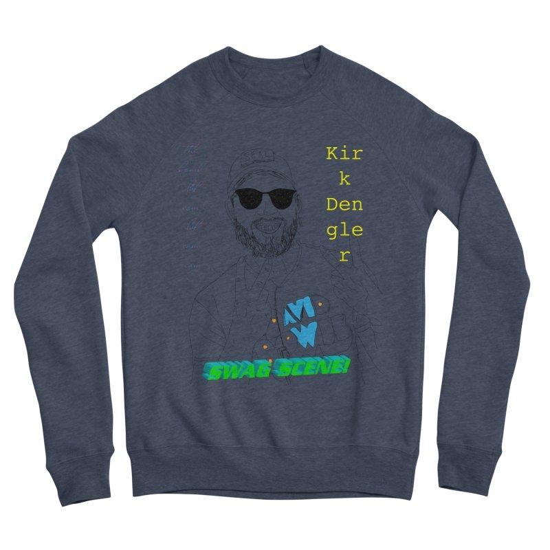 """SWAG SCENE!"" Kirk Dengler: The Shirt Men's Sponge Fleece Sweatshirt by thebombdotcomdotcom.com"