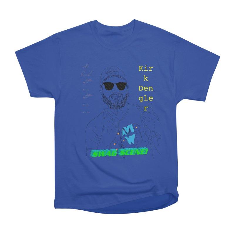 """SWAG SCENE!"" Kirk Dengler: The Shirt Women's Heavyweight Unisex T-Shirt by thebombdotcomdotcom.com"
