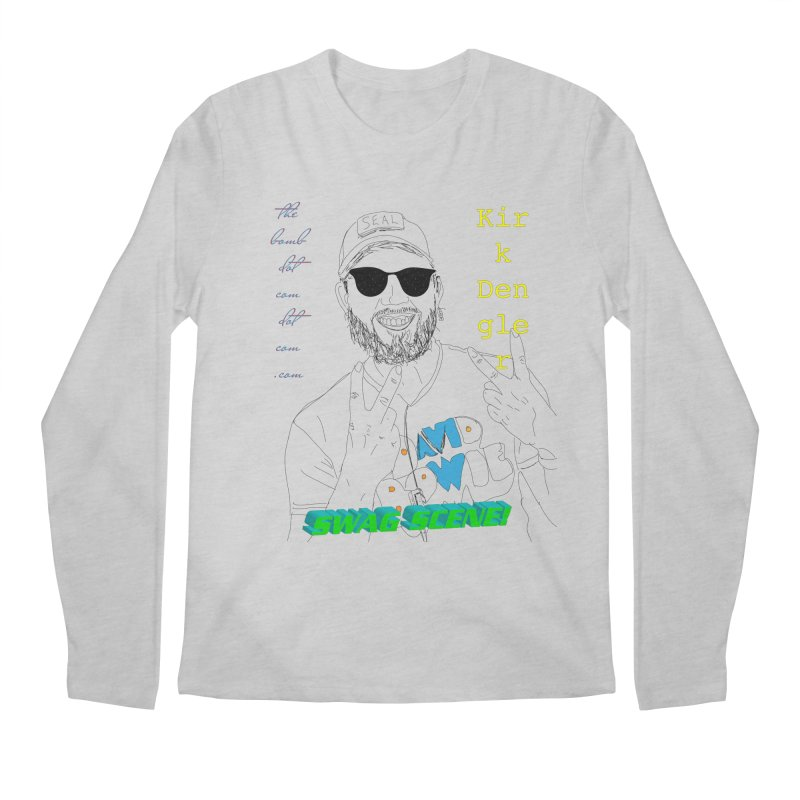 """""""SWAG SCENE!"""" Kirk Dengler: The Shirt Men's Regular Longsleeve T-Shirt by thebombdotcomdotcom.com"""