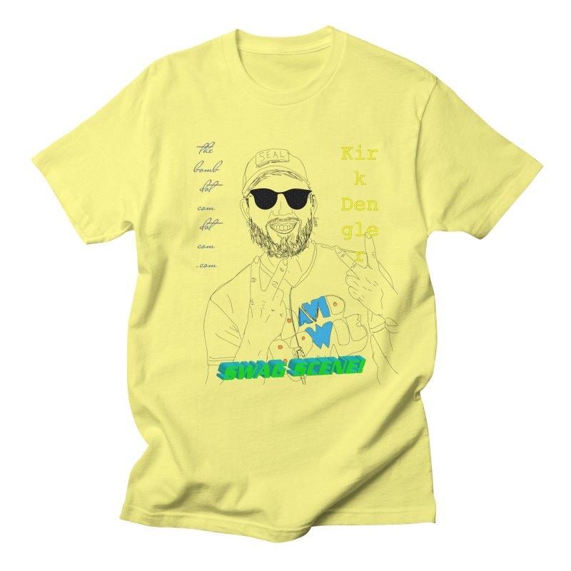 """""""SWAG SCENE!"""" Kirk Dengler: The Shirt Men's Regular T-Shirt by thebombdotcomdotcom.com"""