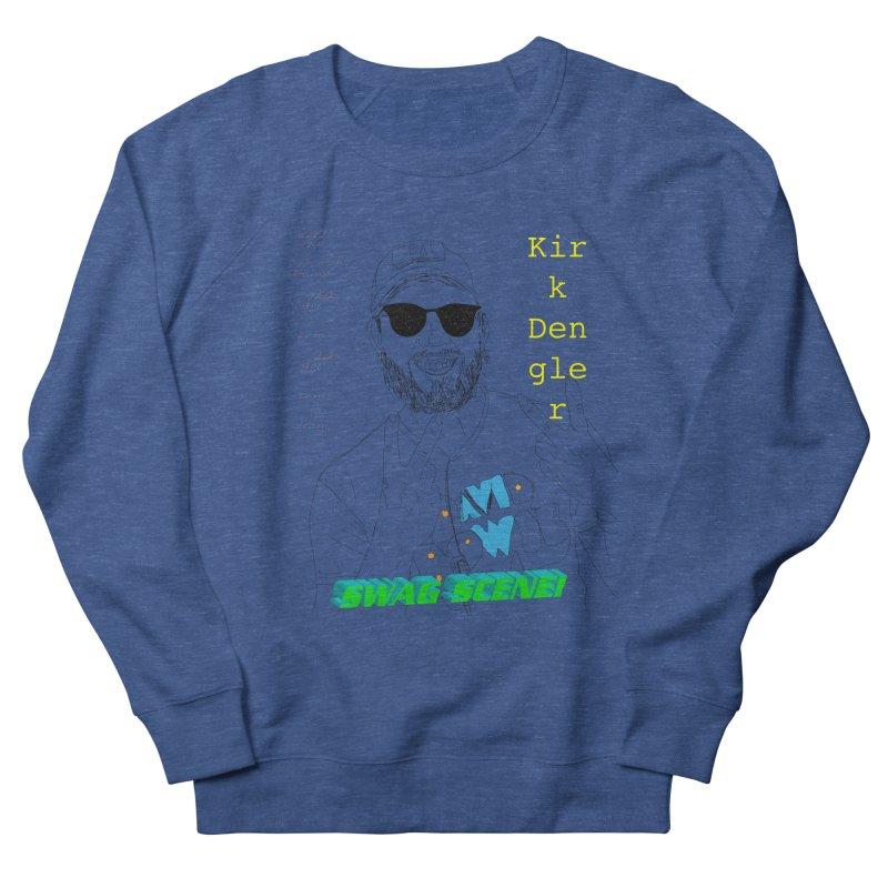 """SWAG SCENE!"" Kirk Dengler: The Shirt Men's French Terry Sweatshirt by thebombdotcomdotcom.com"
