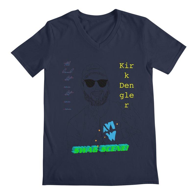 """""""SWAG SCENE!"""" Kirk Dengler: The Shirt Men's Regular V-Neck by thebombdotcomdotcom.com"""