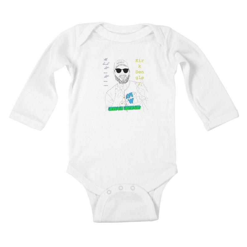 """""""SWAG SCENE!"""" Kirk Dengler: The Shirt Kids Baby Longsleeve Bodysuit by thebombdotcomdotcom.com"""