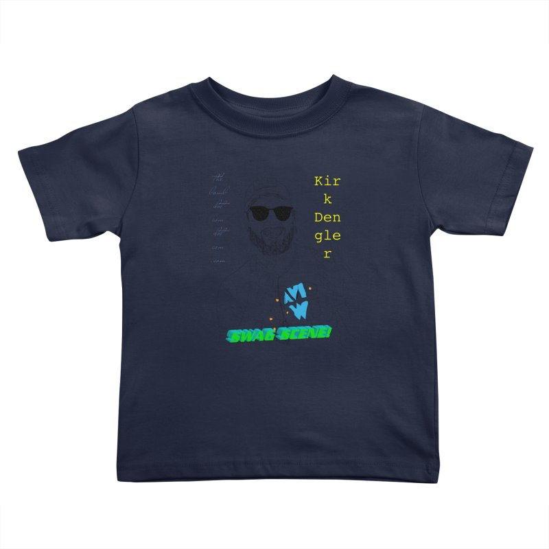"""SWAG SCENE!"" Kirk Dengler: The Shirt Kids Toddler T-Shirt by thebombdotcomdotcom.com"