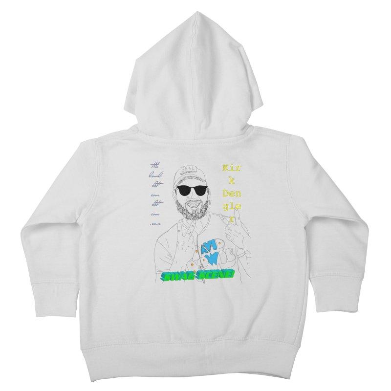 """SWAG SCENE!"" Kirk Dengler: The Shirt Kids Toddler Zip-Up Hoody by thebombdotcomdotcom.com"
