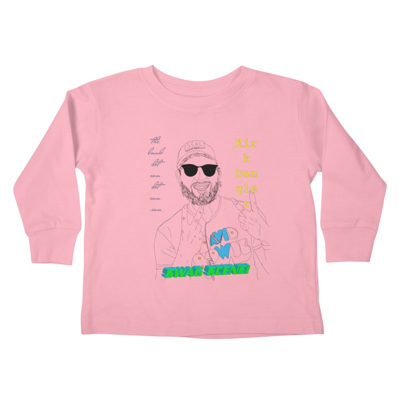 """""""SWAG SCENE!"""" Kirk Dengler: The Shirt Kids Toddler Longsleeve T-Shirt by thebombdotcomdotcom.com"""