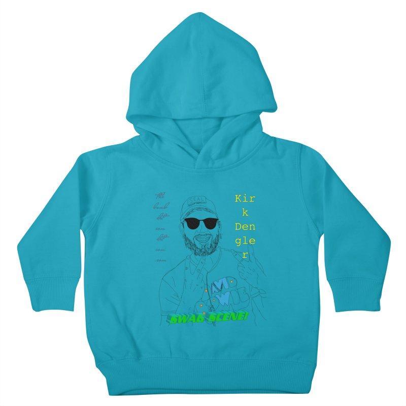"""SWAG SCENE!"" Kirk Dengler: The Shirt Kids Toddler Pullover Hoody by thebombdotcomdotcom.com"