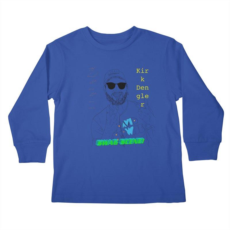 """SWAG SCENE!"" Kirk Dengler: The Shirt Kids Longsleeve T-Shirt by thebombdotcomdotcom.com"