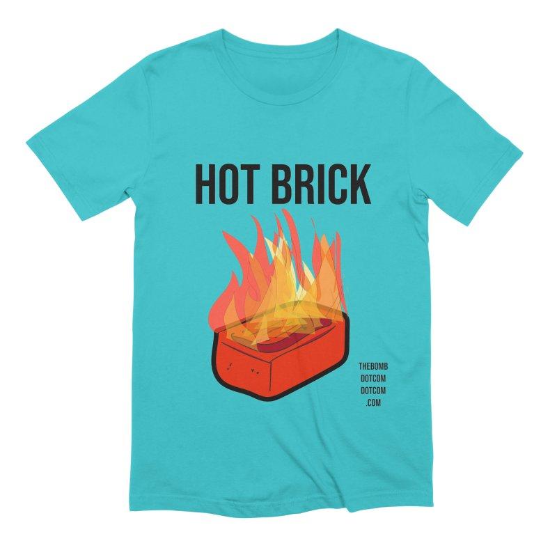 Hot Brick for Julio Zepeda Men's Extra Soft T-Shirt by thebombdotcomdotcom.com