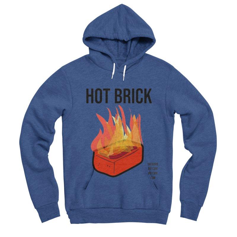 Hot Brick for Julio Zepeda Men's Sponge Fleece Pullover Hoody by thebombdotcomdotcom.com