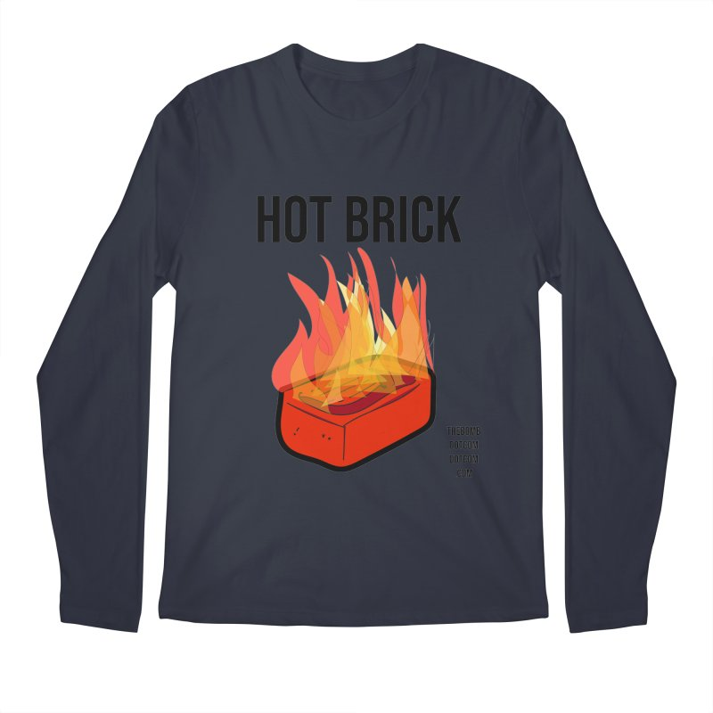 Hot Brick for Julio Zepeda Men's Regular Longsleeve T-Shirt by thebombdotcomdotcom.com