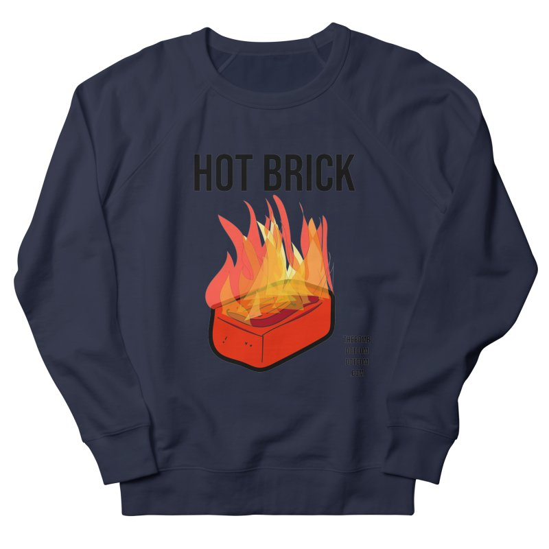 Hot Brick for Julio Zepeda Women's French Terry Sweatshirt by thebombdotcomdotcom.com