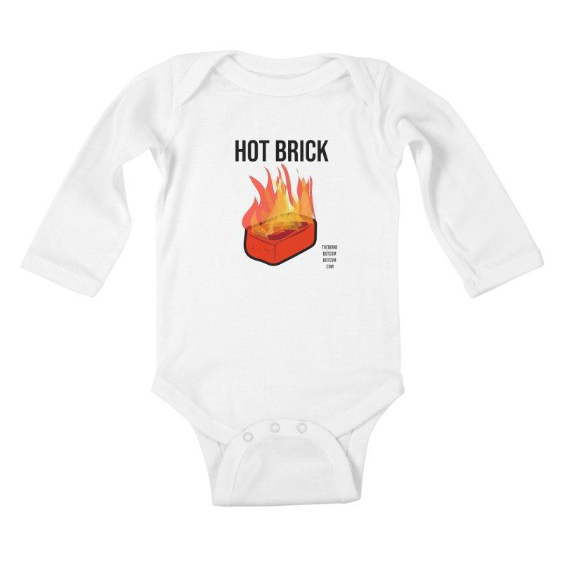 Hot Brick for Julio Zepeda Kids Baby Longsleeve Bodysuit by thebombdotcomdotcom.com