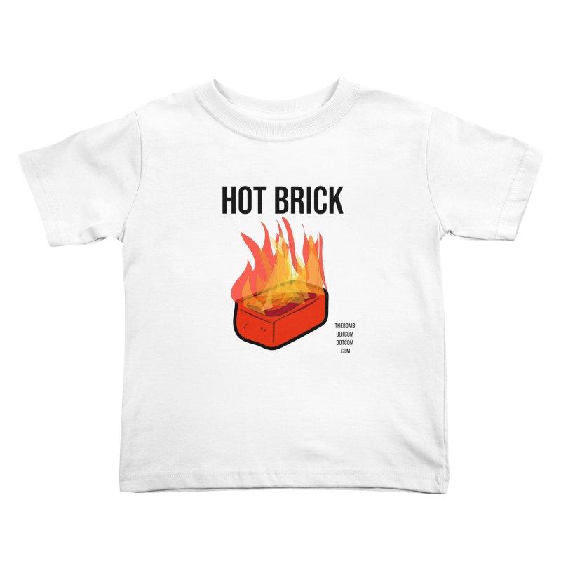 Hot Brick for Julio Zepeda Kids Toddler T-Shirt by thebombdotcomdotcom.com