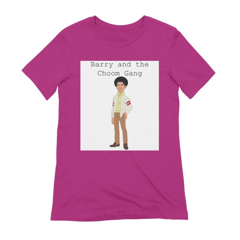 Barry and the Choom Gang for the people Women's Extra Soft T-Shirt by thebombdotcomdotcom.com