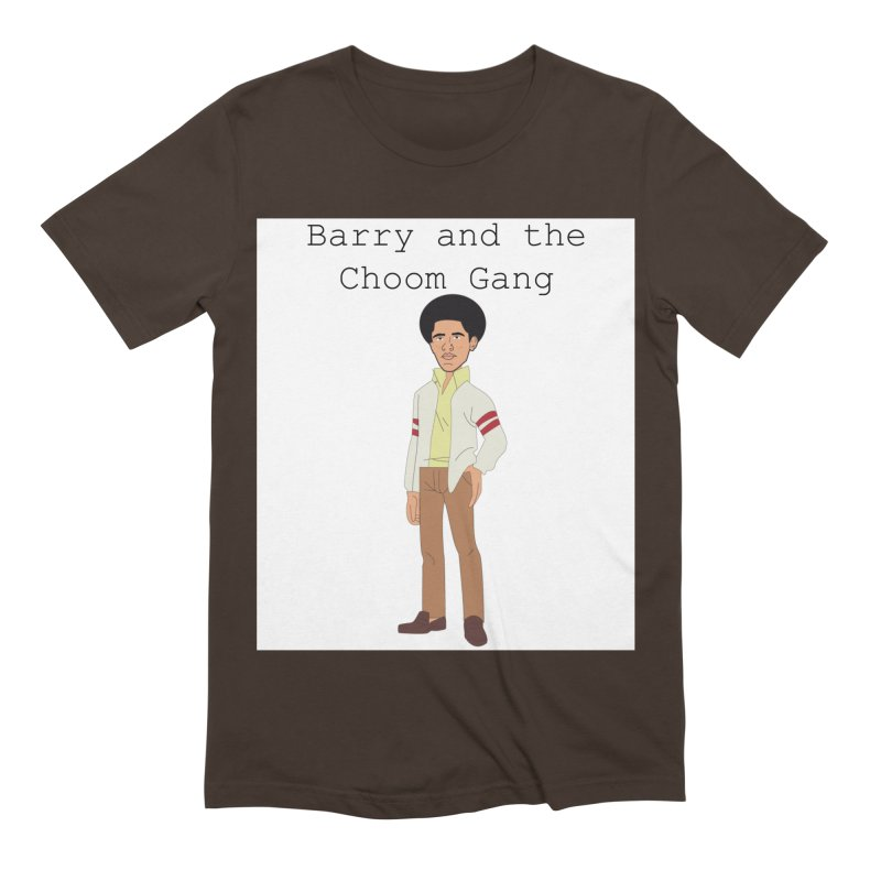Barry and the Choom Gang for the people Men's Extra Soft T-Shirt by thebombdotcomdotcom.com