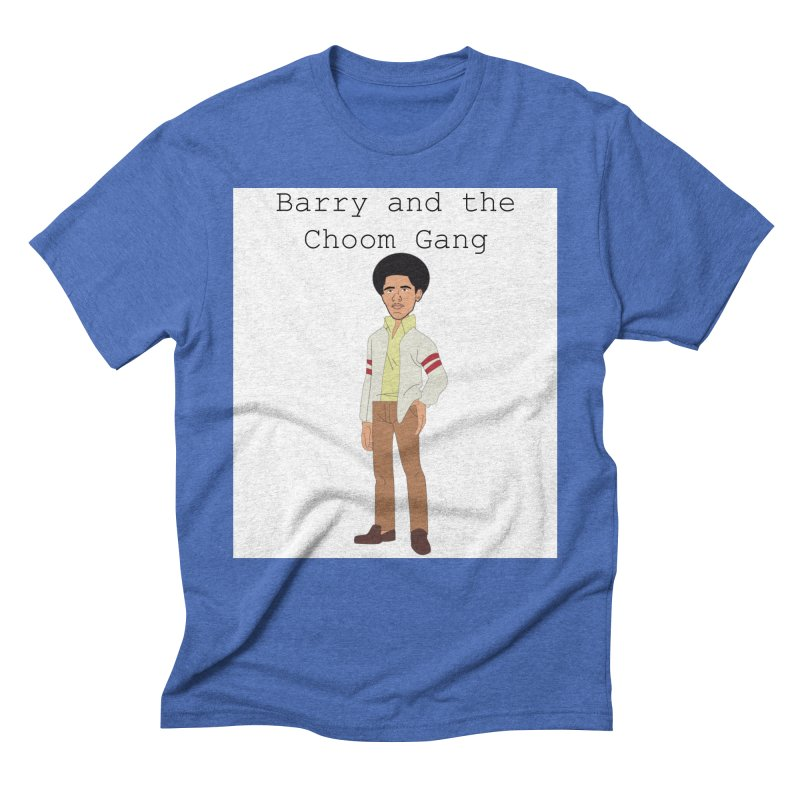 Barry and the Choom Gang for the people Men's Triblend T-Shirt by thebombdotcomdotcom.com