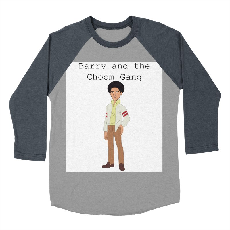 Barry and the Choom Gang for the people Women's Baseball Triblend Longsleeve T-Shirt by thebombdotcomdotcom.com